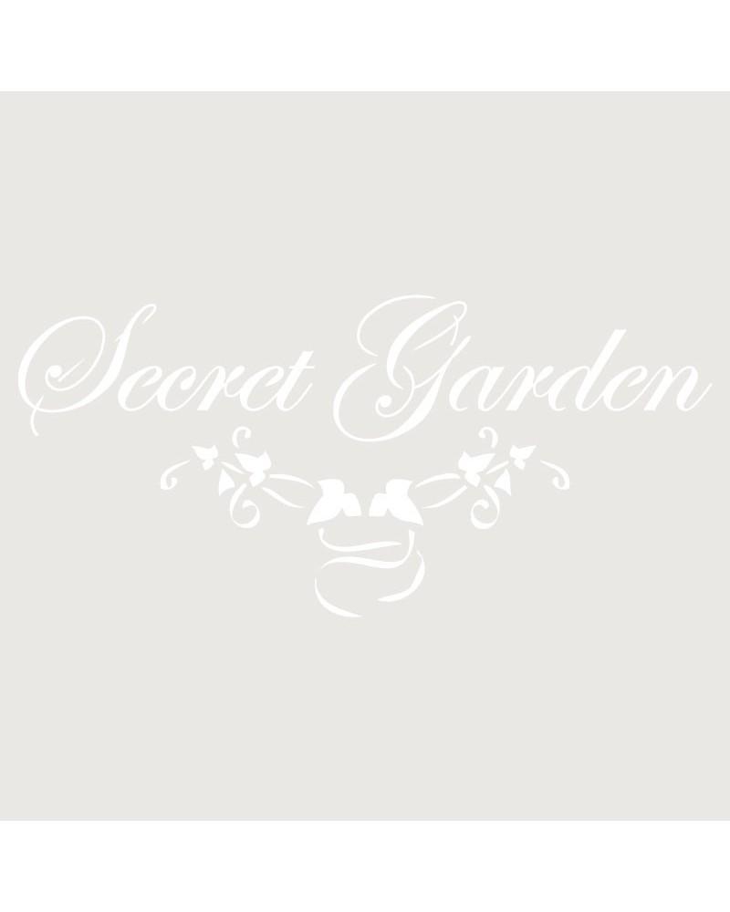 Stencil Texto 010 Secret Garden