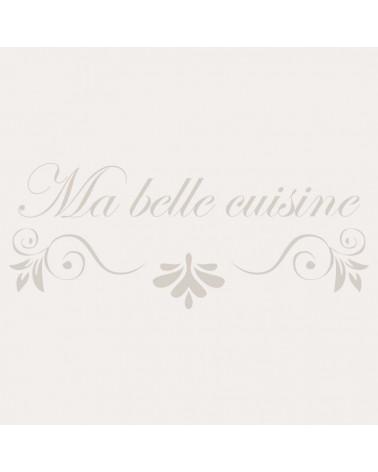 Stencil Texto 016 Ma Belle Cusuine