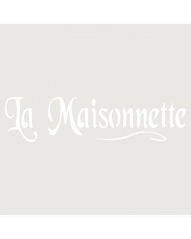 Stencil Texto 020 Le Maisonnette