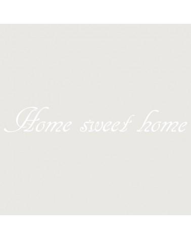 Stencil Texto 022 Home Sweet Home