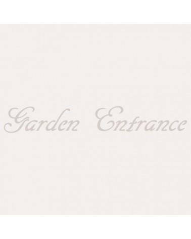 Stencil Texto 025 Garden Entrance