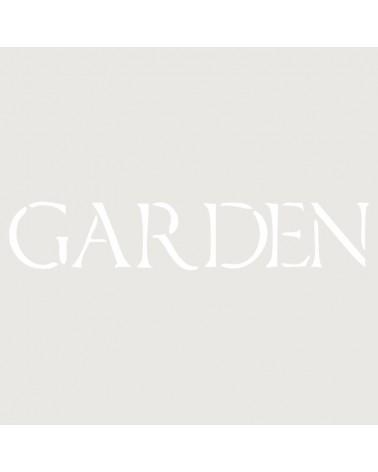 Stencil Texto 026 Garden
