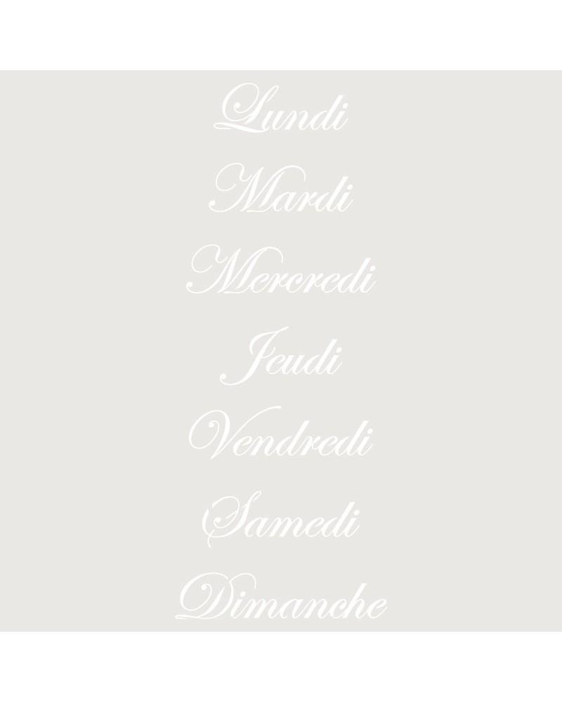 Stencil Texto 028 Lundi...