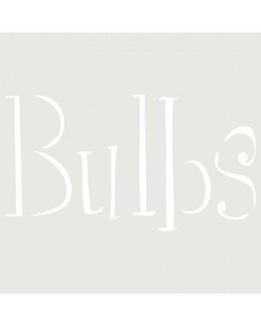 Stencil Texto 032 Bulbs