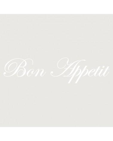 Stencil Texto 034 Bon Appetite