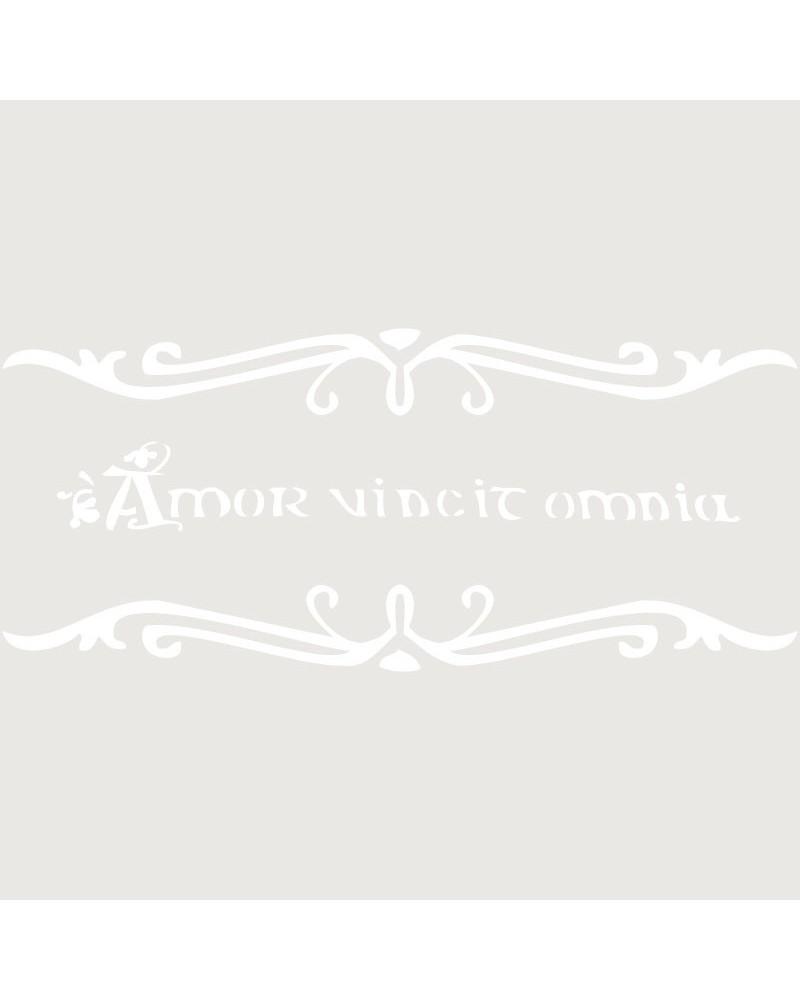 Stencil Texto 036 Amor Vencit Omnia
