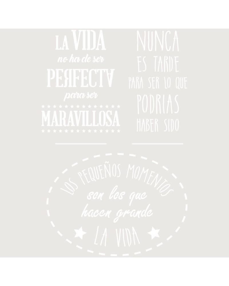Stencil Texto 051 Frases Positivas