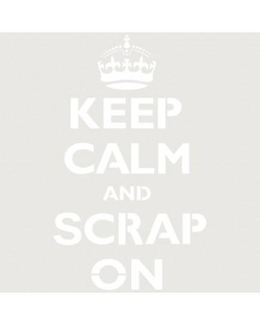 Stencil Texto 058 ScrapOn