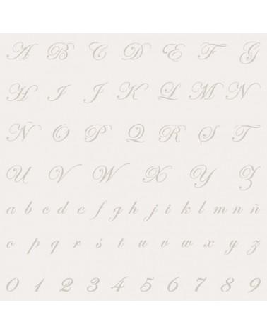 Stencil Mini Abecedario 005