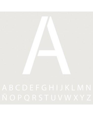 Stencil Mini Abecedario 011