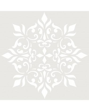 Stencil Mini Adamascado 036