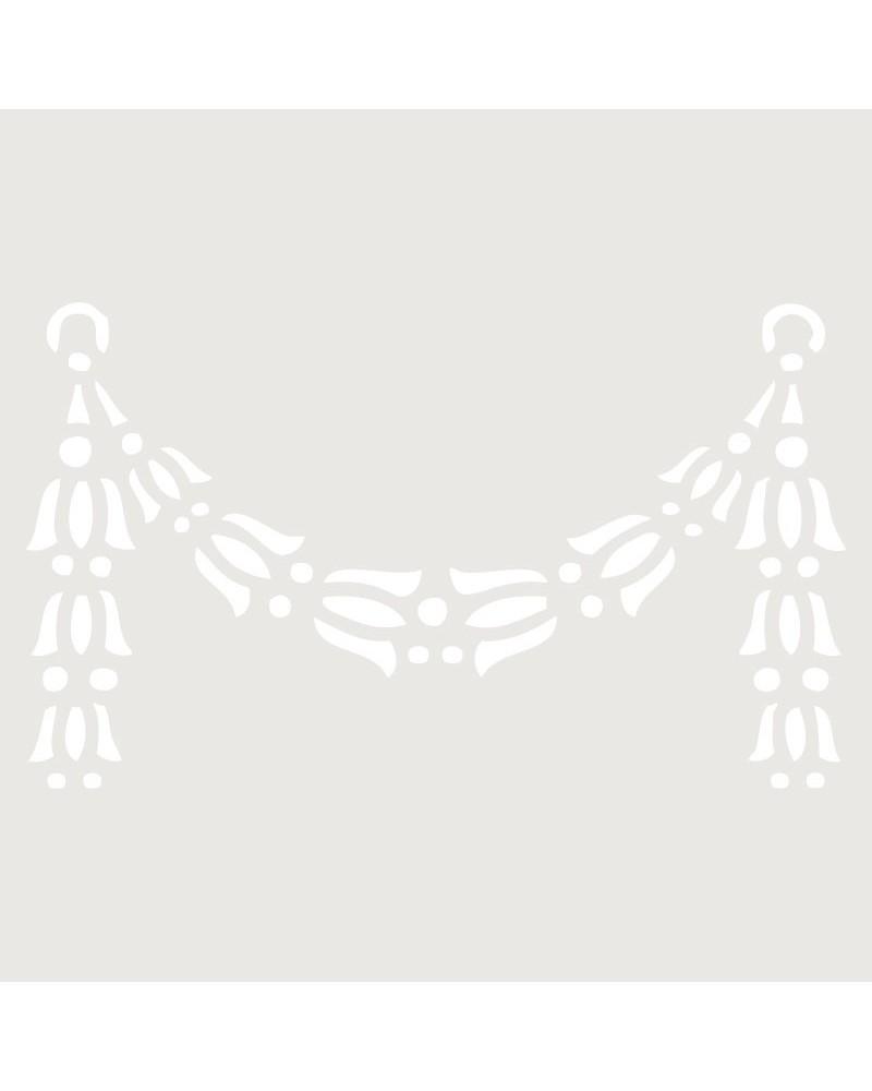 Stencil Mini Cenefa 007