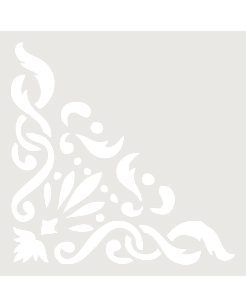 Stencil Mini Cenefa 021