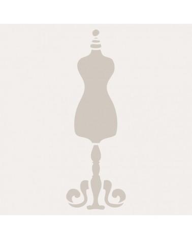 Stencil Mini Figura 006