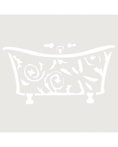 Stencil Mini Figura 011