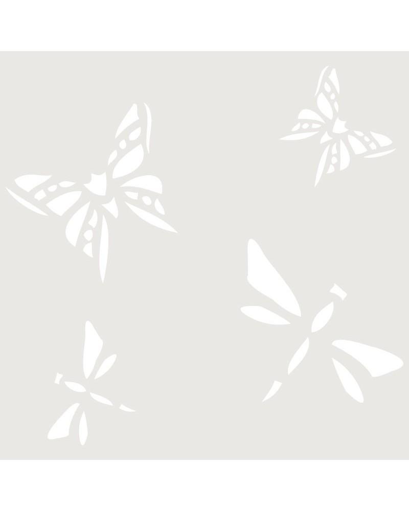 Stencil Mini Figura 012