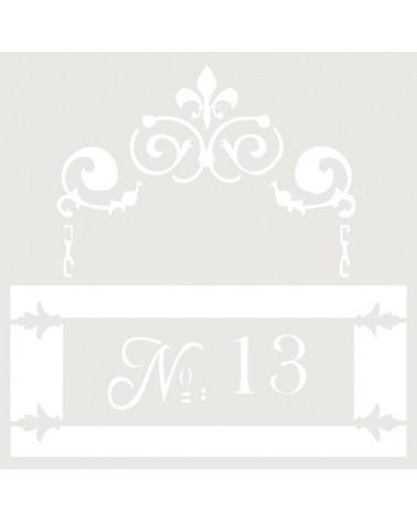 Stencil Mini Figura 018