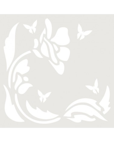 Stencil Mini Figura 041