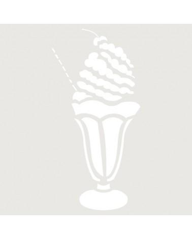 Stencil Mini Figura 043