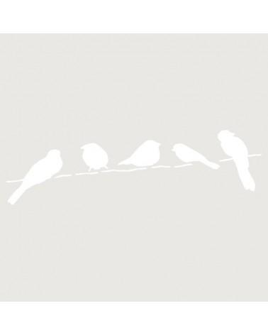 Stencil Mini Figura 055