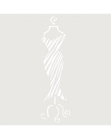Stencil Mini Figura 060