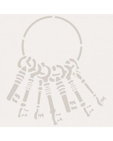 Stencil Mini Figura 079