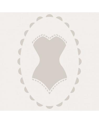 Stencil Mini Figura 083