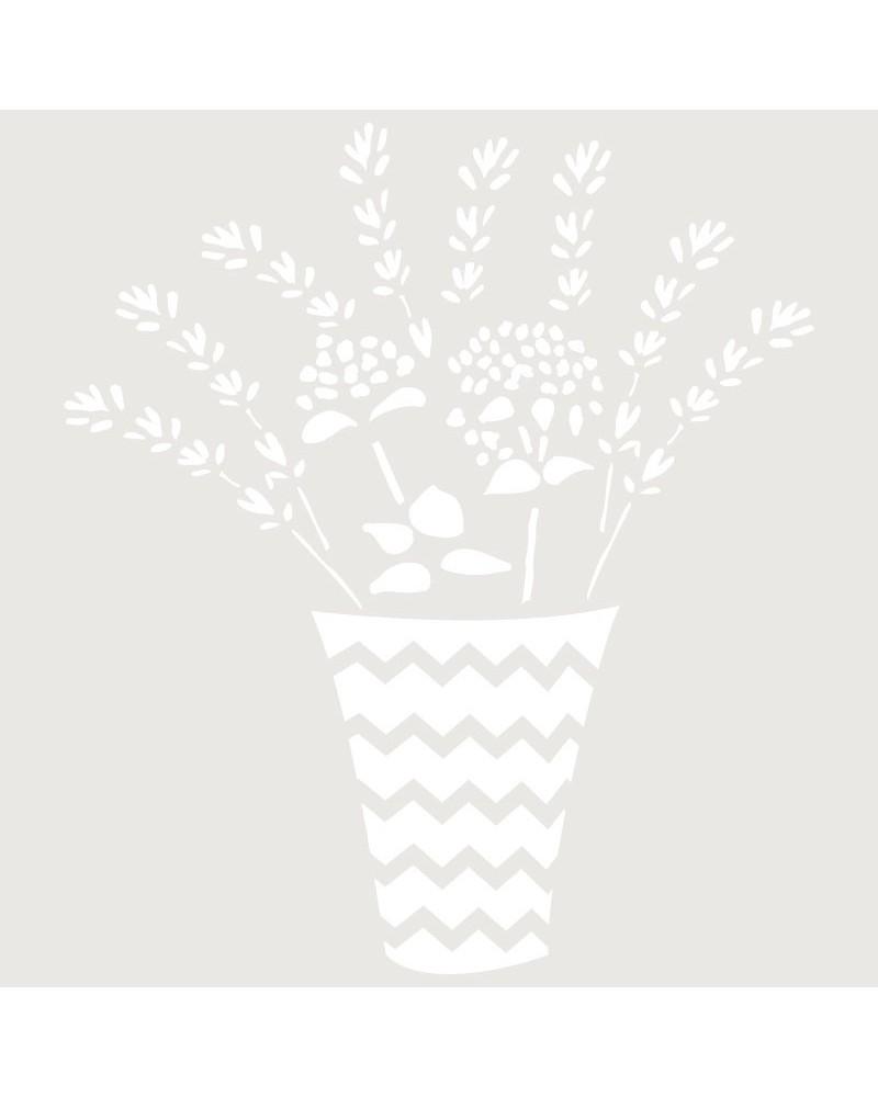 Stencil Mini Figura 086