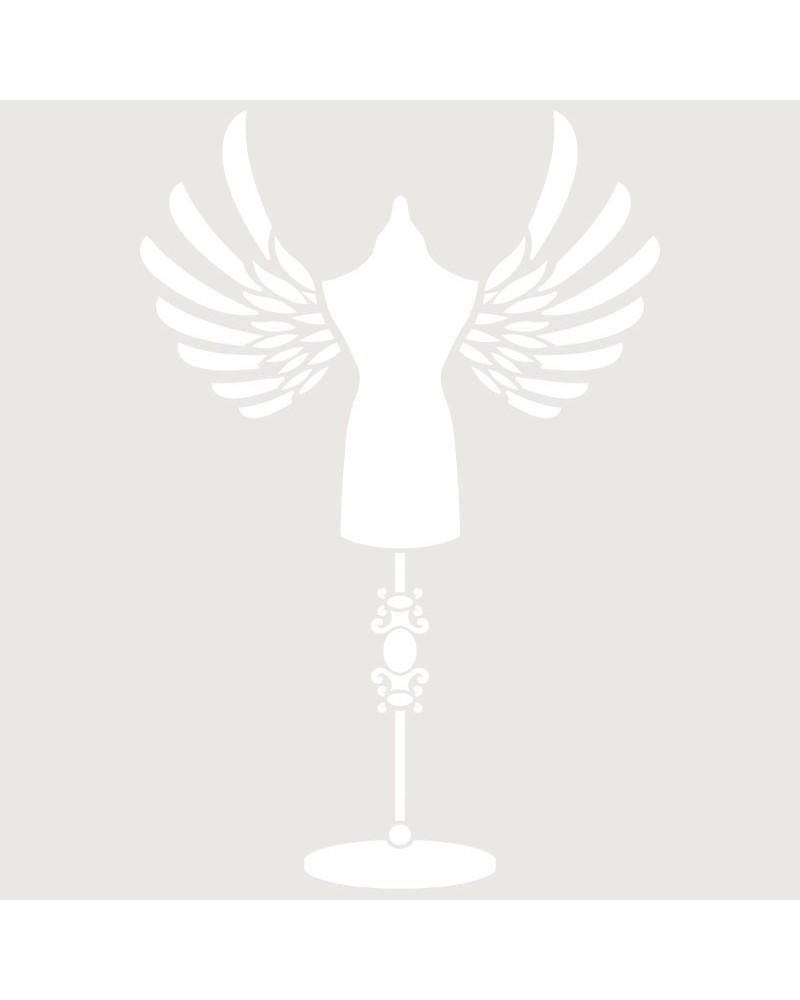 Stencil Mini Figura 087
