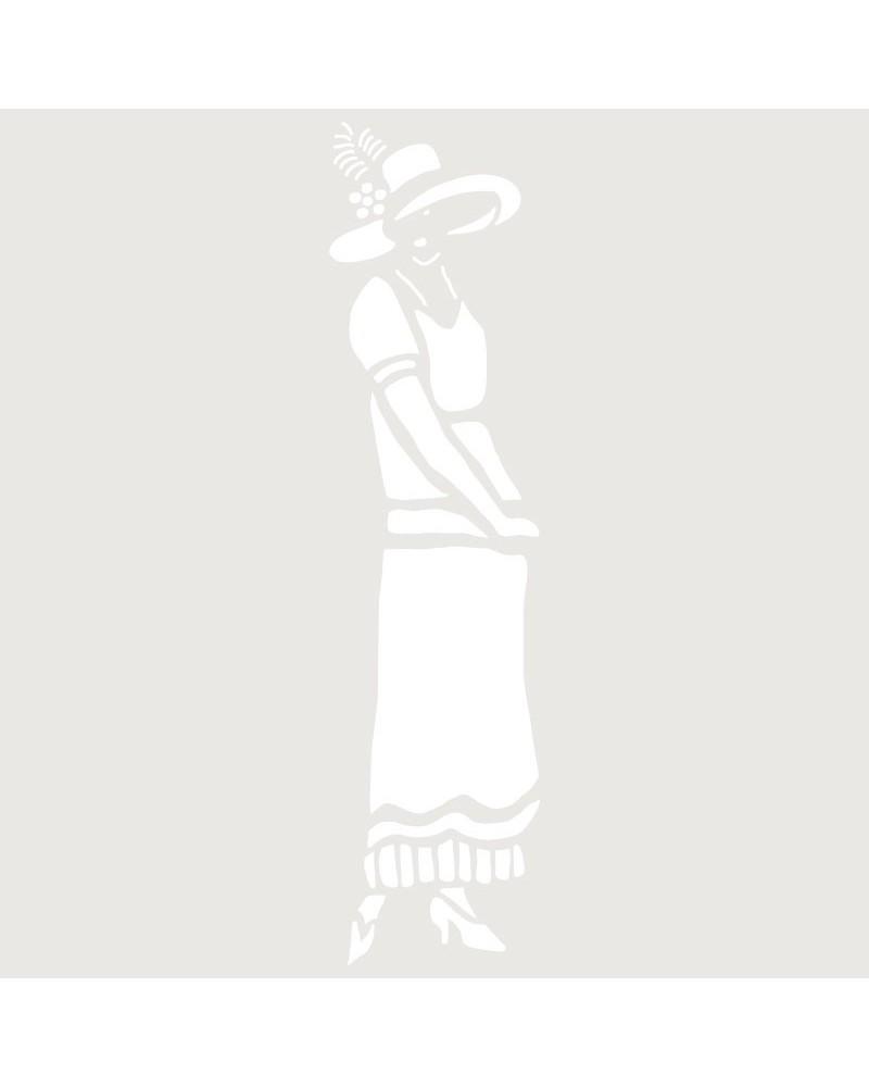 Stencil Mini Figura 088