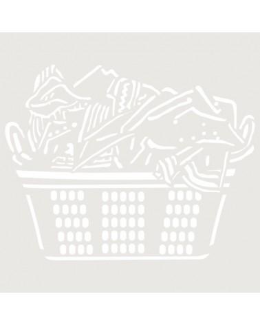 Stencil Mini Figura 090