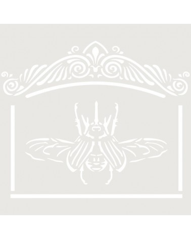 Stencil Mini Figura 096