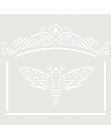 Stencil Mini Figura 097