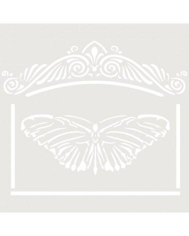 Stencil Mini Figura 098