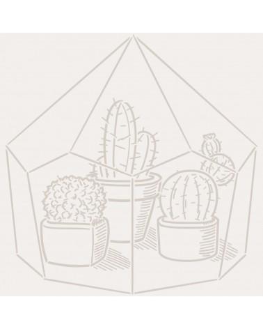Stencil Mini Figura 133