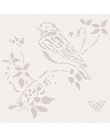 Stencil Animales 006 Pajaro