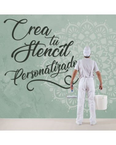 crea tu stencil personalizado 40x30cm