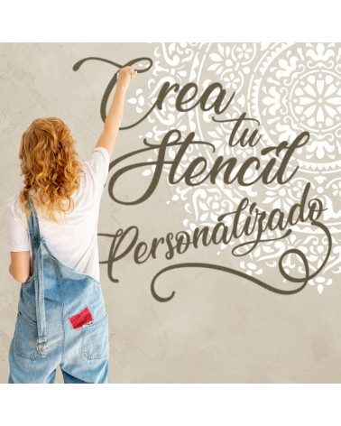 Crea Tu Stencil personalizado 70x70cm