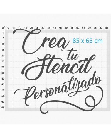 Crea Tu Stencil personalizado 90x70cm