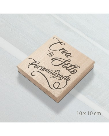 Desing Your Own Rubber Stamp 10x10cm