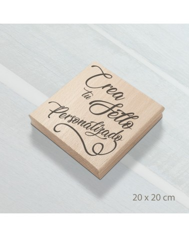 Design Your Own Rubber Stamp 20x20cm