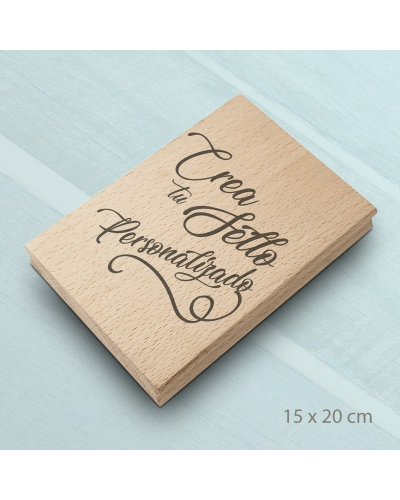 Design Your Own Rubber Stamp 15x20cm