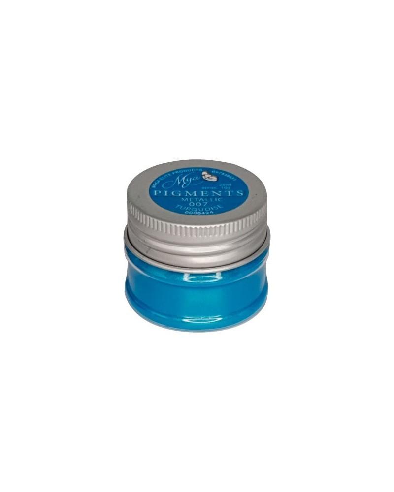 Pigment MYA 007 Metallic Turquoise