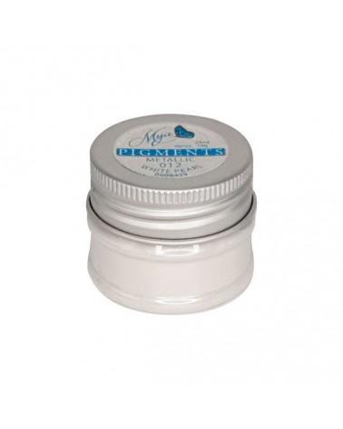 Pigment MYA 012 Metallic White Pearl