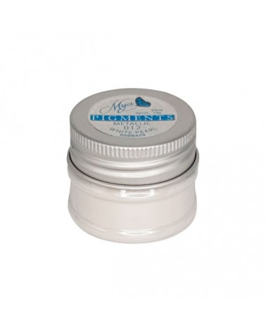 Pigmento MYA 012 Metallic Blanco Perla