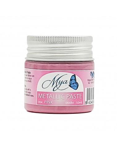 Metallic Paste MYA 004 Rosa