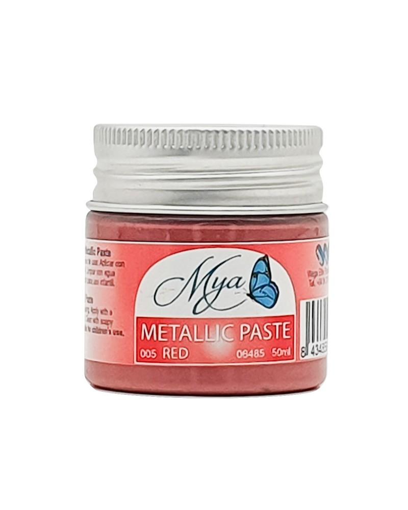 Metallic Paste MYA 005 Rojo