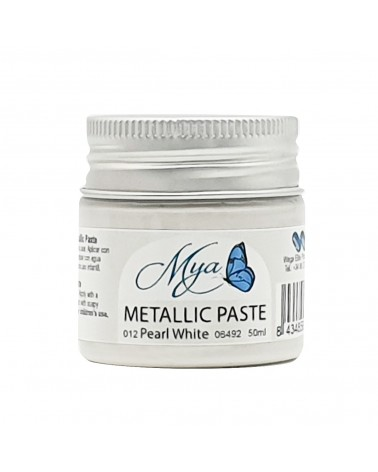 Metallic Paste MYA 012 White
