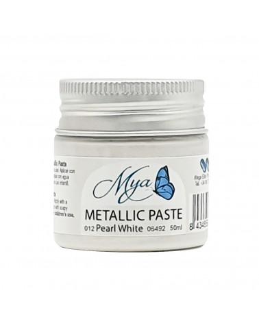 Metallic Paste MYA 012 White