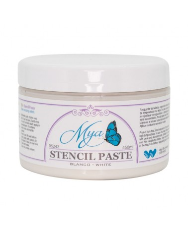 Masilla de Relieve Stencil Paste MYA Blanco